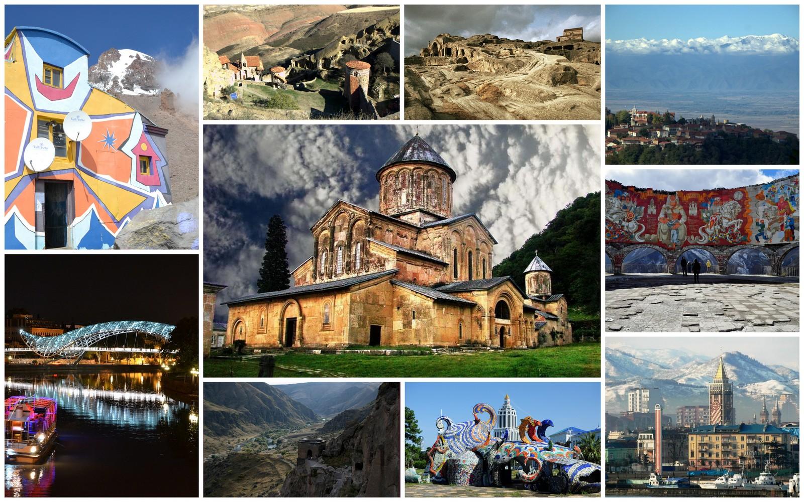 Gruzja regiony Gruzja na życzenie