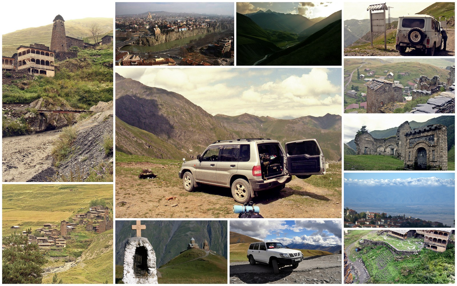 Gruzja off road 4x4